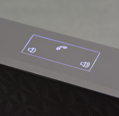 custom Frequency BT Bluetooth Speaker volume buttons