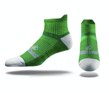 custom socks - Strideline Mid Premium Socks