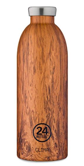 custom wood waterbottle