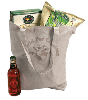Super Natural Eco Tote - custom tote bag