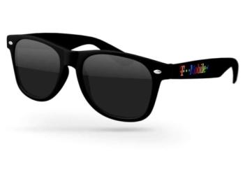 Pride custom sunglasses rainbow logo