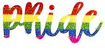 Pride temporary tattoo custom rainbow